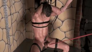 Ball torture BDSM fetish gay boys