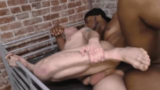 Big black cock prison rape fantasy