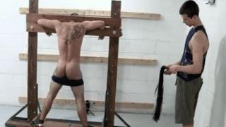 Gay flog BDSM fetish boys