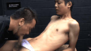 Asian boy small cock sucked