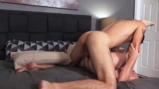 Hotel whore fuckboy anus pound