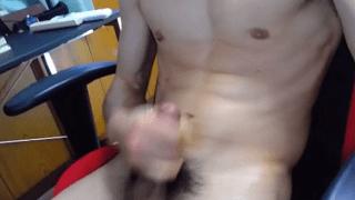 Asian Omegle boy wank video