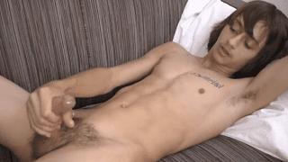 Porn star Mac Dawson gay masturbation video