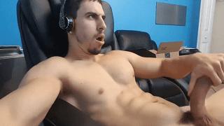 Hot gay porn star webcam wank