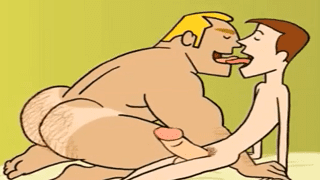 Gay Cartoon – Coach Fucks Horny Student